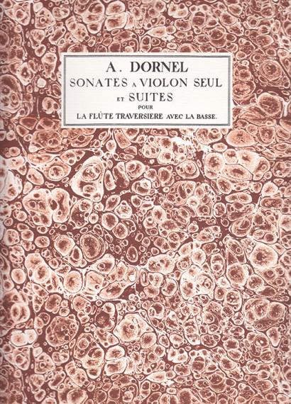 Dornel, Antoine (~1680–1756):8 Sonates op. 2