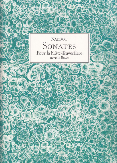 Naudot, Jacques-Christophe (~1690–1762):<br>6 Sonates op. 1