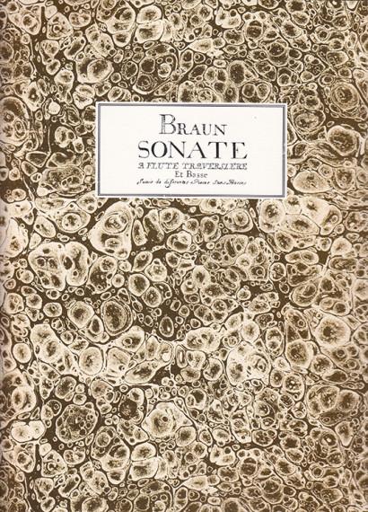 Braun, Jean Daniel (18. Jh.): Sonate