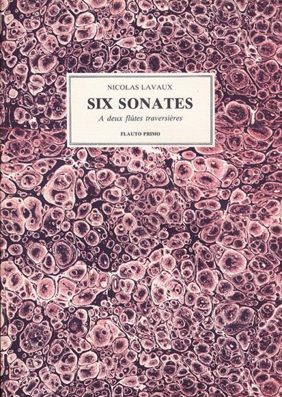 Lavaux, Nicolas: Sonates op. 1 e 2
