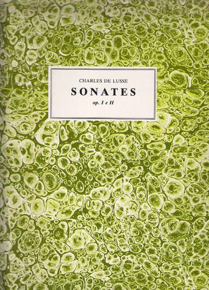 De Lusse, Charles:Six Sonates op. 1 e 2