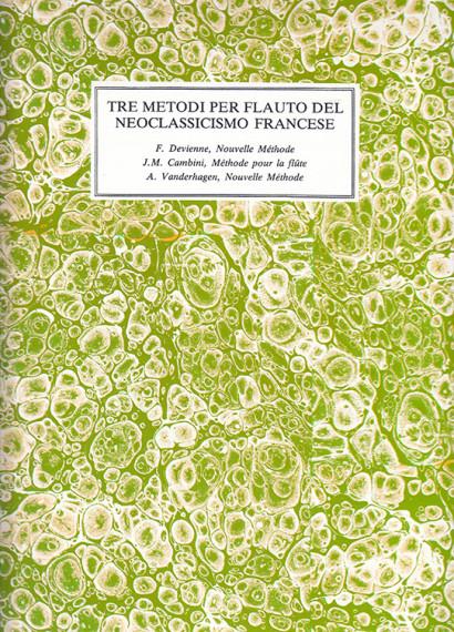 Tre Metodi per flauto traverso del Neoclassicimo francese: