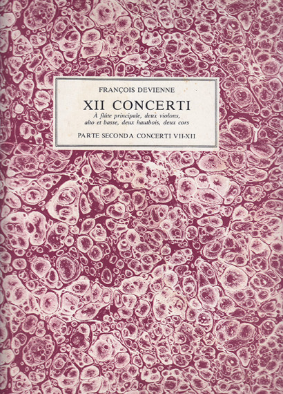 Devienne, Francois (1759–1803): 12 Concerti