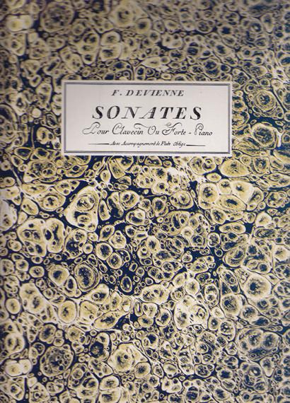 Devienne, Francois (1759–1803): Six Sonates op. 13