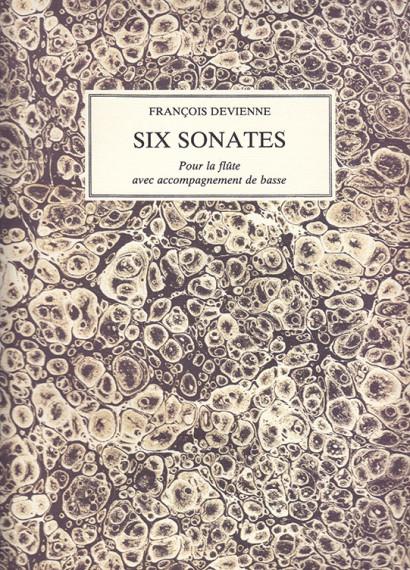 Devienne, Francois (1759–1803):Six Sonates livre 4, op. 68