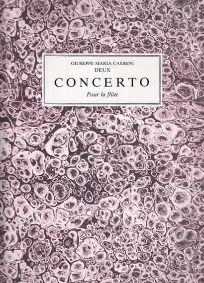 Cambini, Giuseppe Maria (1746–1825): Deux Concerto op.37