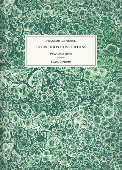 Devienne, Francois (1759–1803):Trois Duos concertans, op. 81