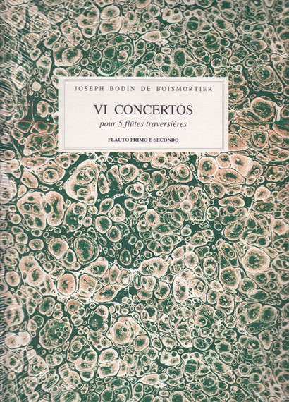 Boismortier, Joseph Bodin de (1689–1755): 6 Concertos op. 15