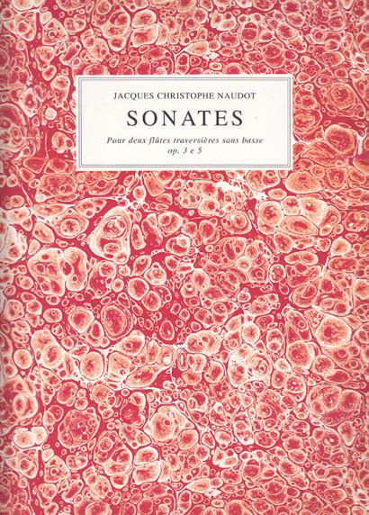 Naudot, Jacques Christophe (1690–1762): 12 Sonates op. 3 e 5