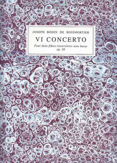 Boismortier, Joseph Bodin de (1689–1755): VI Concerto op. 38