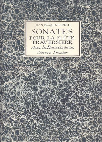 Rippert, Jean Jacques (1696–1725): 10 Sonates op. 1