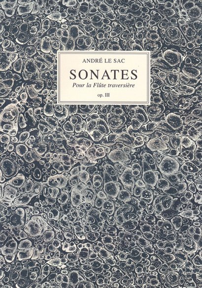 Le Sac, André: Six Sonates op. 3