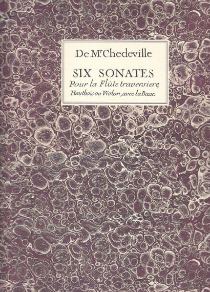 Chédeville, Nicolas (1705–1782): 6 Sonatas op. 8
