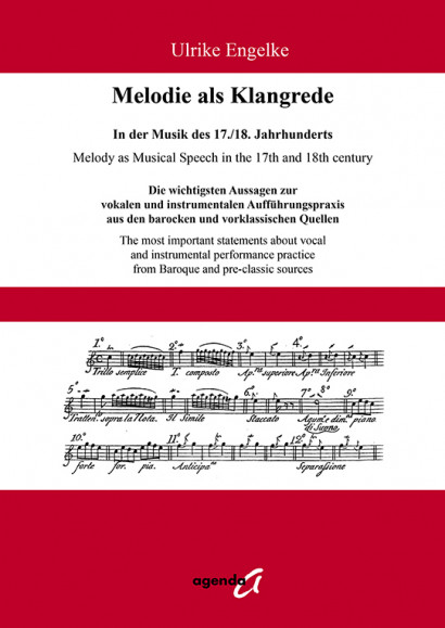 Engelke, Ulrike:Melody as Musical Speech in the 17th and 18th century