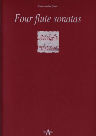 Quantz, Johann Joachim (1697-1773): Four Flute Sonatas