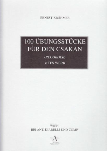 Krähmer, Ernest (1660-1712): 100 Übungsstücke op. 31