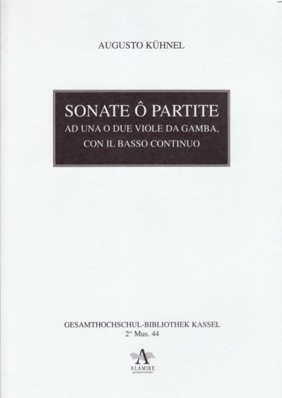 Kühnel, August (1645-?1700): Sonate ô Partite