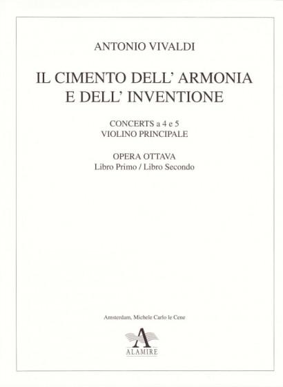 Vivaldi, Antonio (1678-1741): Il Cimento dell' Armonia e dell' Inventione (incl. La quattro Stagione & Il Piacere, La Tempesta di Mare & La Caccia)