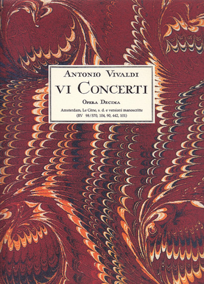 Vivaldi, Antonio (1678–1741): VI Concerti a Flauto Traverso op. 10