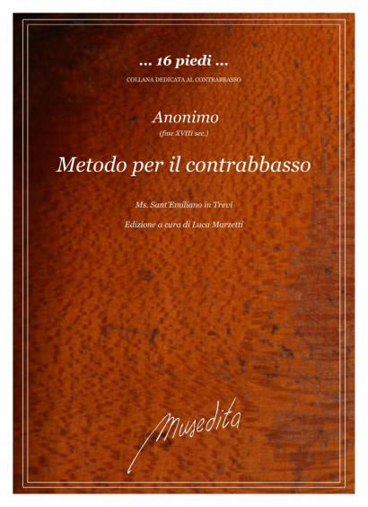 Anonymus (18th century): Metodo per il contrabbasso