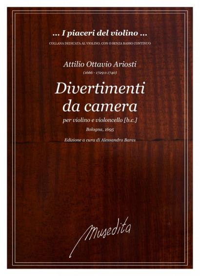 Ariosti, Attilo O. (1666–1729/1749): Divertimenti da camera