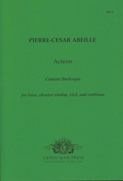 Abeille, Pierre-Cesar (~1700): Acteon