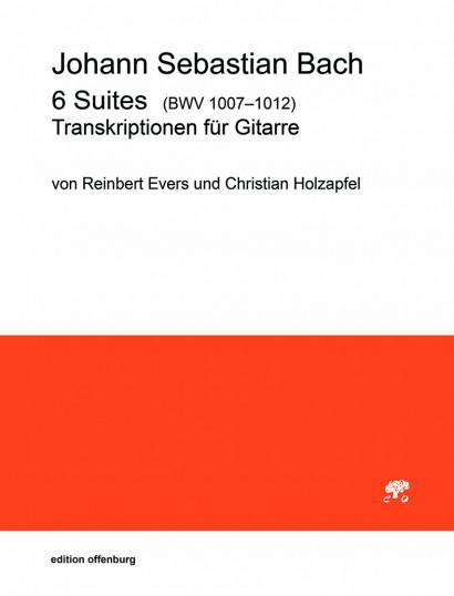 Bach, Johann Sebastian (1685–1750): 6 Suites BWV 1007–1012