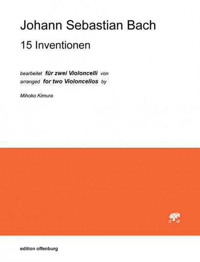 Bach, Johann Sebastian (1685– 1750): 15 Inventionen