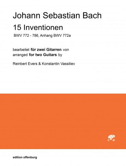 Bach, Johann Sebastian (1685–1750): 15 Inventionen