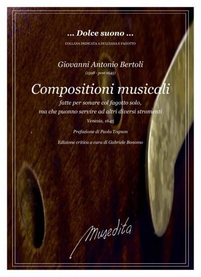 Bertoli, Giovanni Antonio (16 Jh.): Composizioni musicali