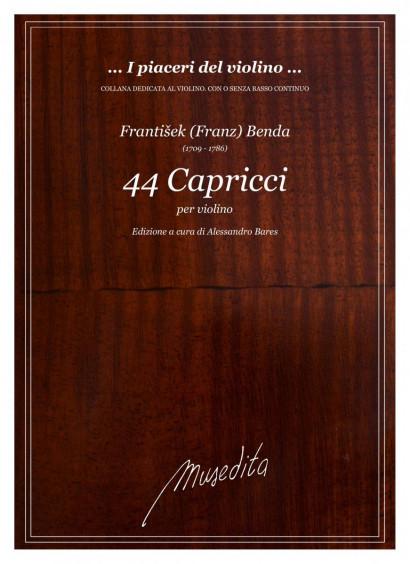 Benda, Franz (1709–1786): 44 Capricci