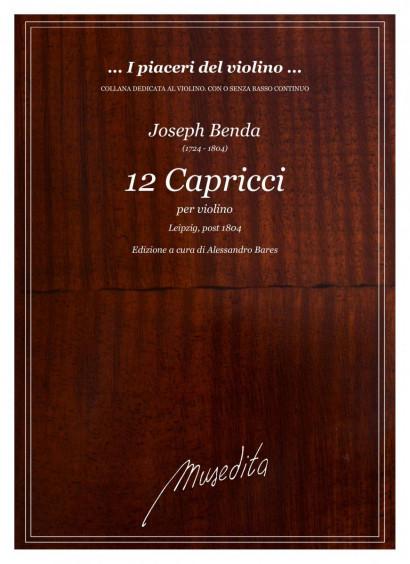 Benda, Joseph (1724–1804): 12 Capricci