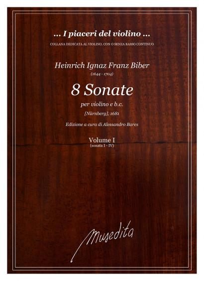 Biber, Heinrich I. F. (1644–1704): 8 Sonate (1681)