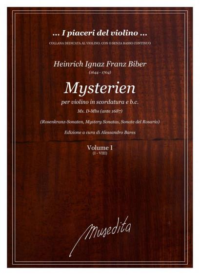 """Biber, Heinrich I. F. (1644–1704): Mysterien-Sonatas (""""Rosenkranz-Sonatas"""")"""