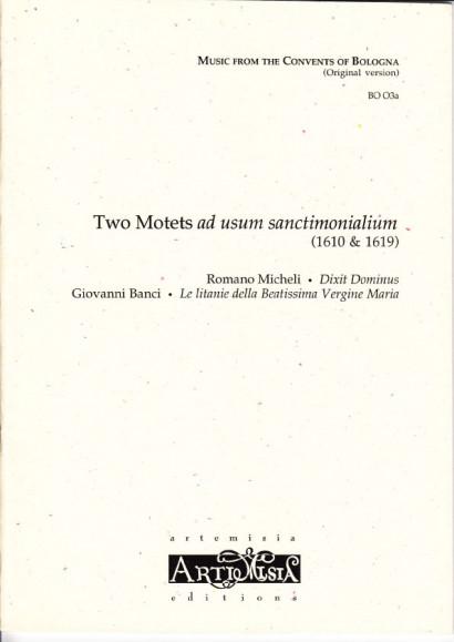 Micheli, Romano (~1575-1659): Dixit Dominus - Originalausgabe für gem. Chor