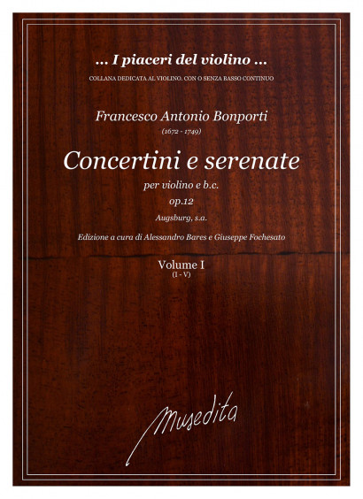 Bonporti, Francesco A. (1672–1749): Concertini e Serenate op. 12