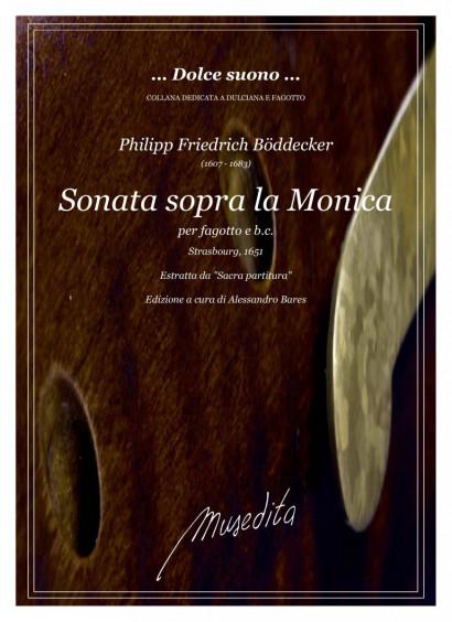 Böddecker, Philipp, Fr. (1607–1683): Sonata sopra la Monica