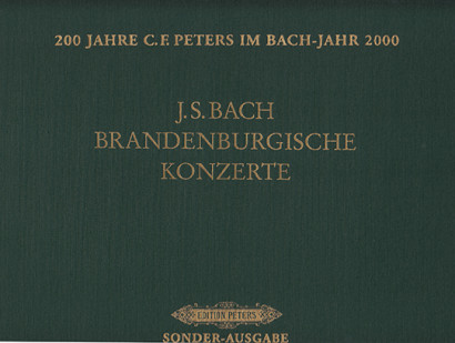 Bach, Johann Sebastian (1685– 1750): Six Brandenburg Concertos