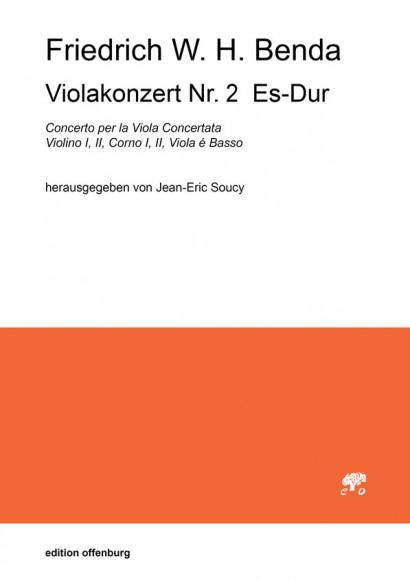 Benda, Friedrich W. H. (1745–1814): Viola Concerto Nr. 2 Es-Dur<br>– Partitur