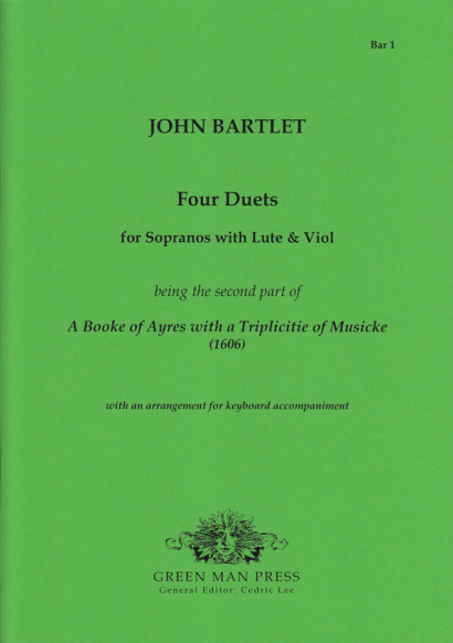 Bartlett, John (17. Jh.): Four Duets (1606)