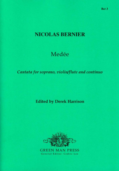 Bernier, Nicolas (1665-1734): Cantata from Medée