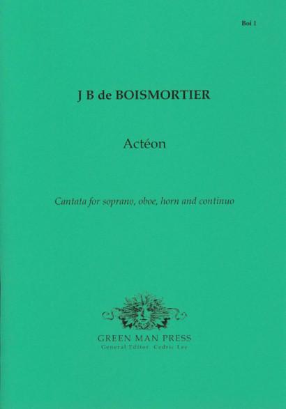 Boismortier, Jean Bodin de (1689-1755): Actéon (1737)