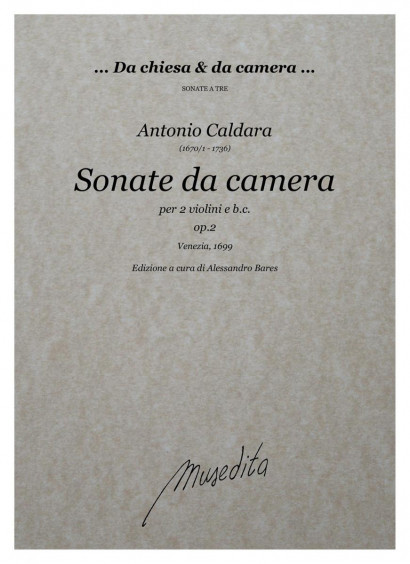 Caldara, Antonio (1670/1–1736): Sonate da camera op. 2