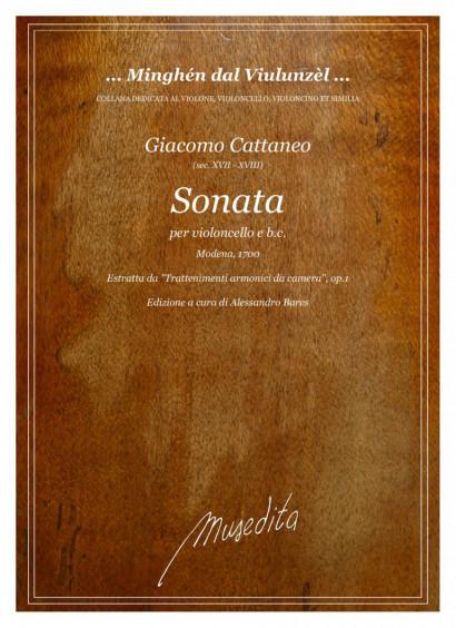 Cattaneo, Giacomo (17.–18 Jh.): Sonata