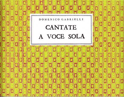 Gabrielli, Domenico (~1659–1690): Cantate a Voce Sola
