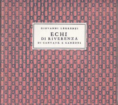 Legrenzi, Giovanni (1626–1690):Echi di Reverenza op. 14