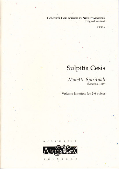 Cesis, Sulpita (1577-?): Motetti Spirituali I - original version for mixed choir