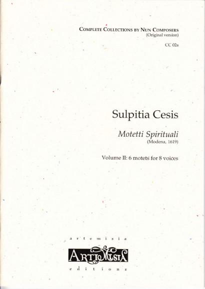 Cesis, Sulpita (1577-?): Motetti Spirituali  II - Originalausgabe für gem. Chor