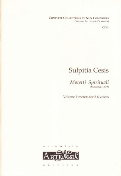 Cesis, Sulpita (1577-?): Motetti Spirituali I - Convent-Version für Frauenst.