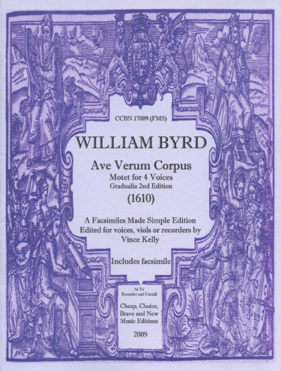 Byrd, William (1543-1623): Ave Verum Corpus